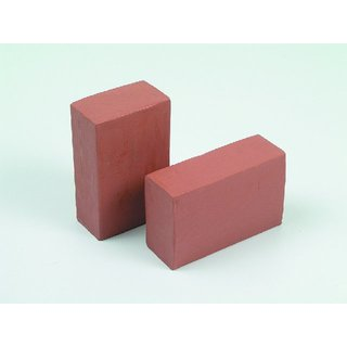 Beschuss Plastilin, Blockform, 1000 g